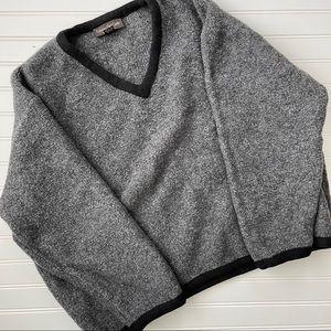 Fabrizio Del Carlo Large Grey Sweater